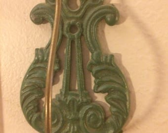 Metal wall hook antique, shabby chic