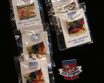 Collectable Olympics Lapel Pins