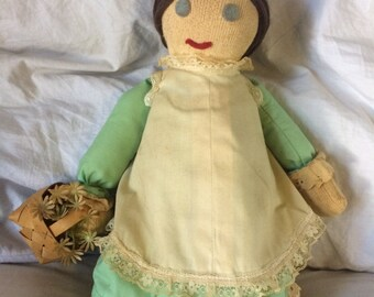 Vintage Handmade Doll     Handmade Doll   Decorative Doll