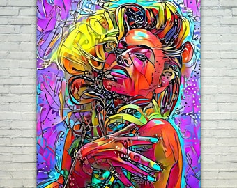 Beyonce - Beyonce Poster,Beyonce West Art,Beyonce Print,Beyonce Poster,Beyonce Merch,Beyonce Wall Art,Beyonce Fan Art,Modern Abstract Pop