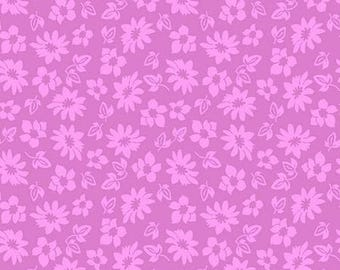 Extravaganza Purple Floral C4645-Purple from Riley Blake by the yard