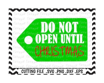 Christmas Gift Tag, Holiday Tag, Svg-Dxf-Png-EPS-Pdf, Cutting Files for Silhouette Cameo/Cricut, Svg Download.