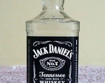 Empty Liquor Bottle --  Jack Daniels  Whiskey 750 ml