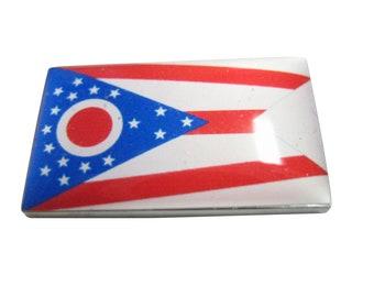 Ohio State Flag Pendant Magnet