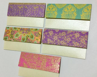 Gift Card Holders with Note Cards