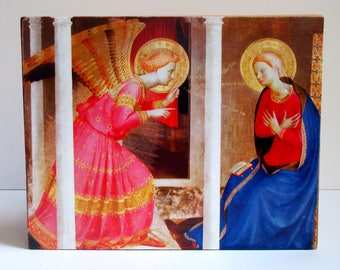 Annunciation by Fra Angelico Wood Plaque