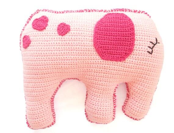 Crochet Pillow Pattern How To Crochet A Pillow Crochet Elephant