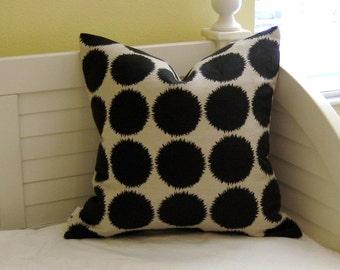 SALE, FREE Shipping, Studio Bon Fuzz in Brown Designer Pillow Cover 20x20
