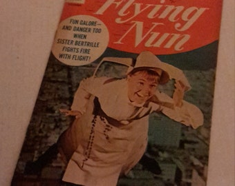 the flying nun Sally field dell comic book 1968