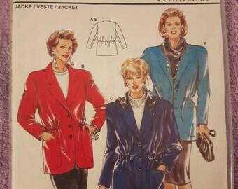 Burda 4737, Women's Jacket Pattern