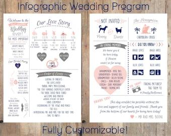 Infographic Wedding Program