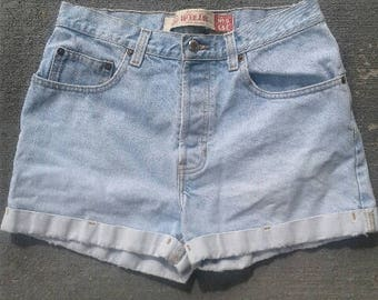 Vintage High Waist Cuffed GAP Shorts