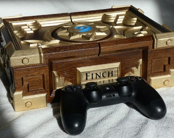 Custom HS Box Replica Personalized Wooden Сasket Oak Wood Blizzard Warcraft Hearthstone Card Game Gift