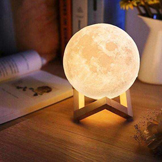 Moon Night Light Moon Lamp Gift 3D Moon Lamp Lunar Lamp