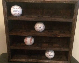Baseball Display Shadow Box