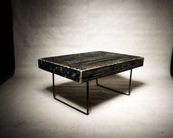 Industrial / Rustic / Minimalist Style / Black / Coffee Table / Lounge Table / Living Room / Office