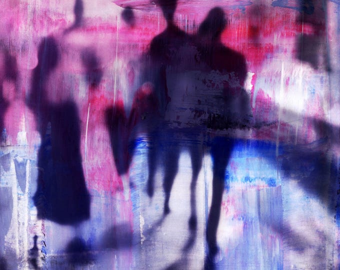 MYANMAR BLUR XXIII by Sven Pfrommer - Artwork is ready to hang