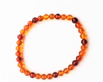Handmade baltic amber bracelets