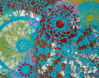 Joy, Acrylic 12x18 Painting