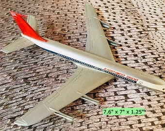 Vintage Die Cast Boeing 707 Model Airplane with Northwest Orient OR Pan Am Livery 1:239 scale