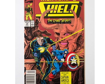 Nick Fury Agent of Shield Number 10 1989