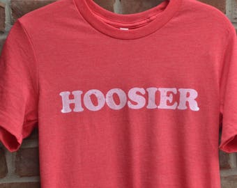 Hoosier tee. Indiana shirt. Indiana tshirt. Hoosier state tee. Unisex Hoosier shirt.