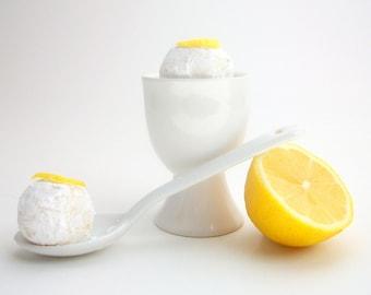 Chocolate Lemon Citrus Truffles Dark or White Chocolate(16 count)
