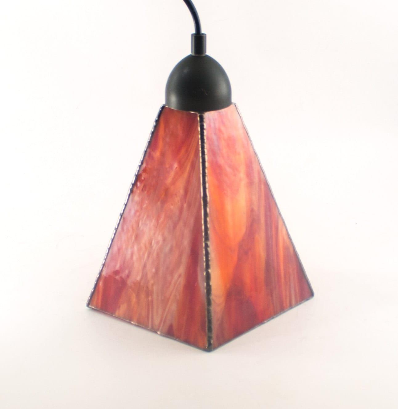 Red Kitchen Lamp: Red Pendant Lighting Kitchen Island Lamp Modern Interior