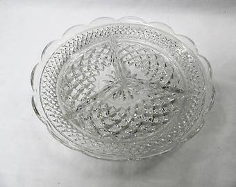 Wexford 3 part relish dish fantastic condition