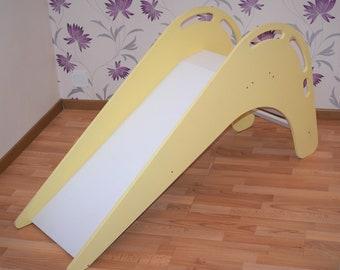 Wooden Slide, Indoor Slide For Kids, Slide For Children, Outdoor Slide