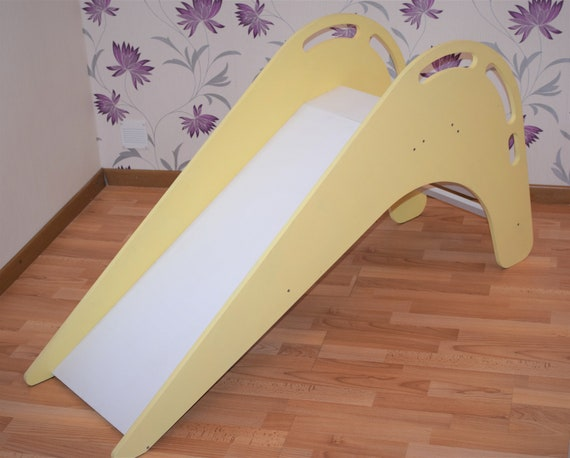 Wooden slide indoor slide for kids slide for children