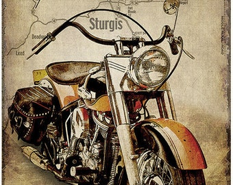 Great collection of vintage prints THE BEST MOTORCYLE years 50-60-70 until the present day