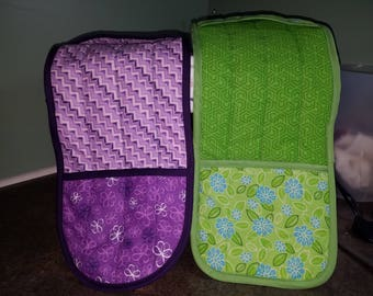 Double Oven Mitt - Made to order