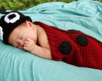 SnugBug Lady Bug for Newborns
