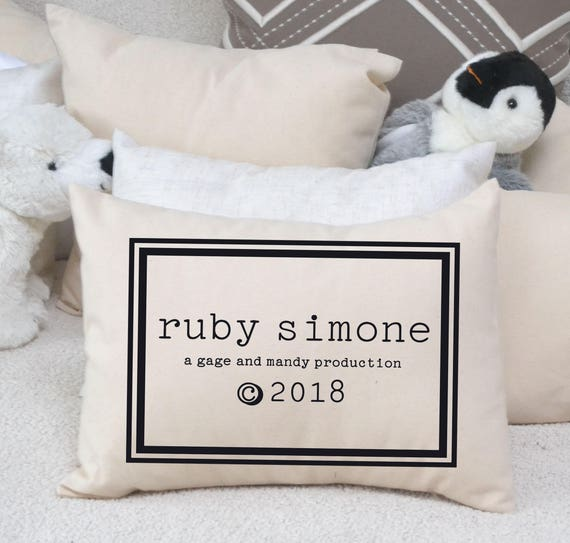 New baby personalized pillow trendy baby twin baby gift new baby personalized pillow trendy baby twin baby gift best selling baby gift greatest adventure best baby gift twin shower gift negle Choice Image