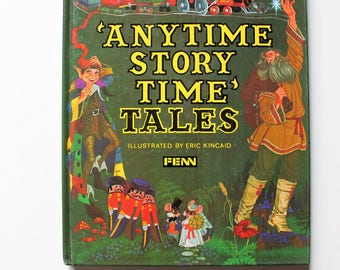 Eric Kincaid Anytime Storytime Tales Read Again Series 1979