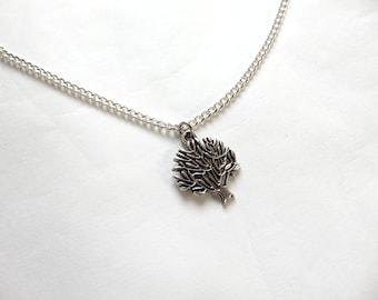 Silver Tree Necklace