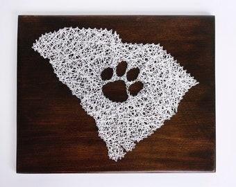 South Carolina String Art - Clemson