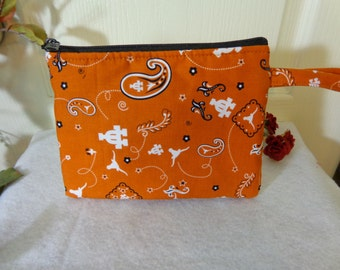 Makeup Bag: Texas Longhorn UT