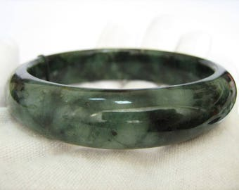 bracelet women green charm product bangle bracelets bangles models jade fine emerald s natural jewelry genuine from