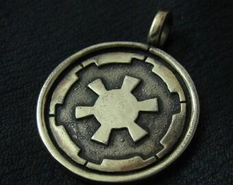 Bronze Galactic Empire pendant