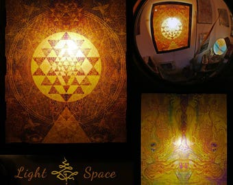 Balancia - Handmade Art Lightbox - Lightmirror - Artprint- Custommade - Various Designs