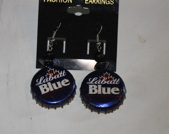 Labatt Cap Earrings