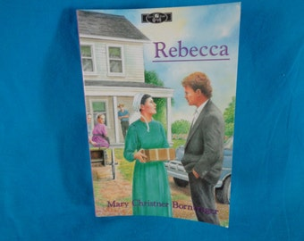 vintage 1989 Rebecca by Mary Christner Borntrager book 2 of the series Ellie's people