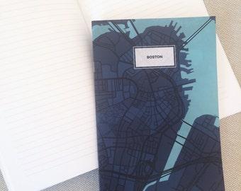 Boston Map Notebook