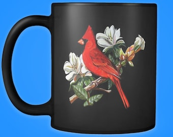 Cardinal Accent Mug, Accent Color Mug, Best Friend Mug, Mom Mug, Coffee Mug, Accent Coffee Mug,  Mug For Her, Accent Mug For Him, Coffee Cup
