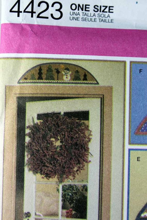 Einfachheit 4423 Stoff Tür stoppt und Bögen Muster Home