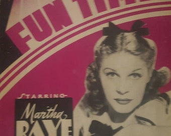 Fun Time program. Featuring  Martha Raye