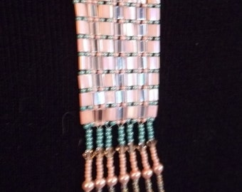 Tila bead necklace