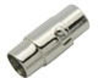 8mm Locking Stainless Steel Magnetic End Cap/Clasp 8mm Inner Diameter for Kumihimo